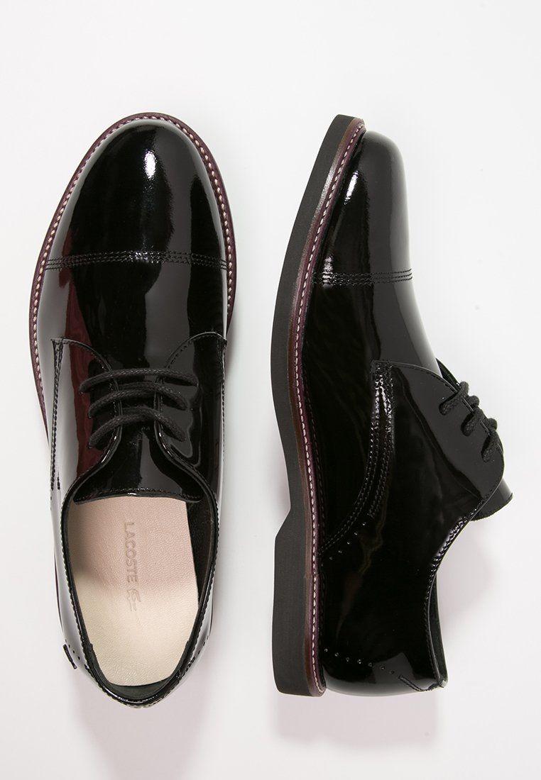 Veterschoenen Black Zalando Zapatos Rene Lacoste be YOq5xw