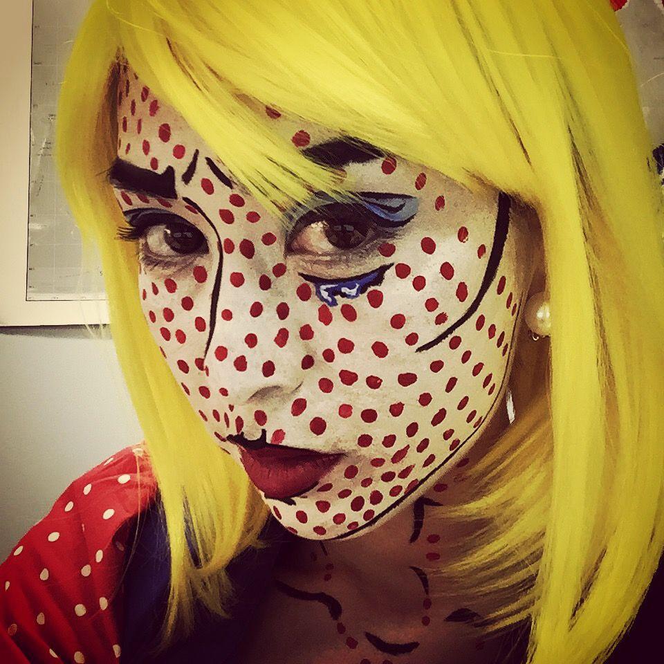 Roy Lichtenstein Halloween Costume.My Halloween Costume Inspiration Roy Lichtenstein Crying