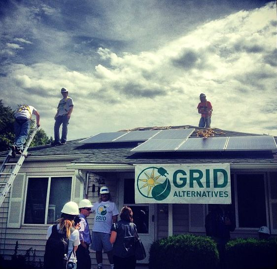 With the help of volunteers and solar job trainees, GRID Alternatives brings #solarenergy to low-income residents, like Bobby and Rick Lopez. The families then become ambassadors for solar power in their communities. http://www.solarreviews.com/blog/low-income-families-become-ambassadors-for-solar-energy-082113/