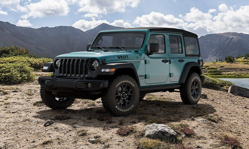 2020 Jeep Wrangler Willys Limited Edition In 2020 Jeep Wrangler Willys Green Jeep Wrangler