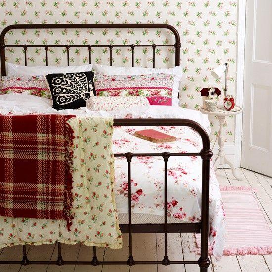 Einrichtung Vintage Wohnideen: Hübsche Vintage Schlafzimmer Wohnideen Living Ideas
