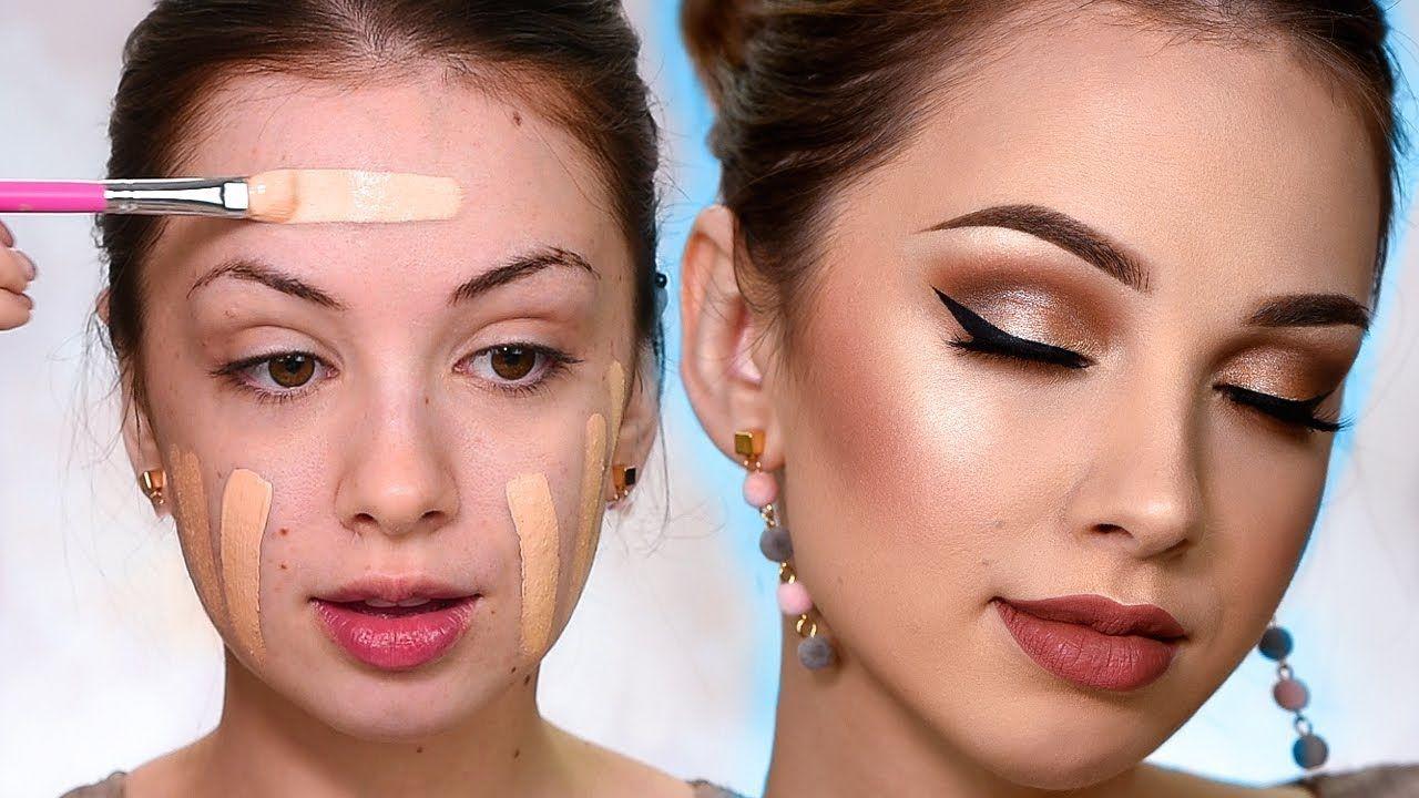 SIMPLE GLAM Makeup Tutorial Makyaj look, Makyaj ipuçları