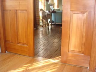 Great Job Using 2 Different Color Woods Hardwood Floor Colors Hardwood Flooring