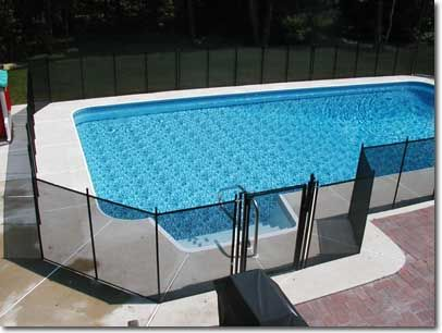 Removable Safety Mesh Pool Fence New Jersey Nj New York Ny For