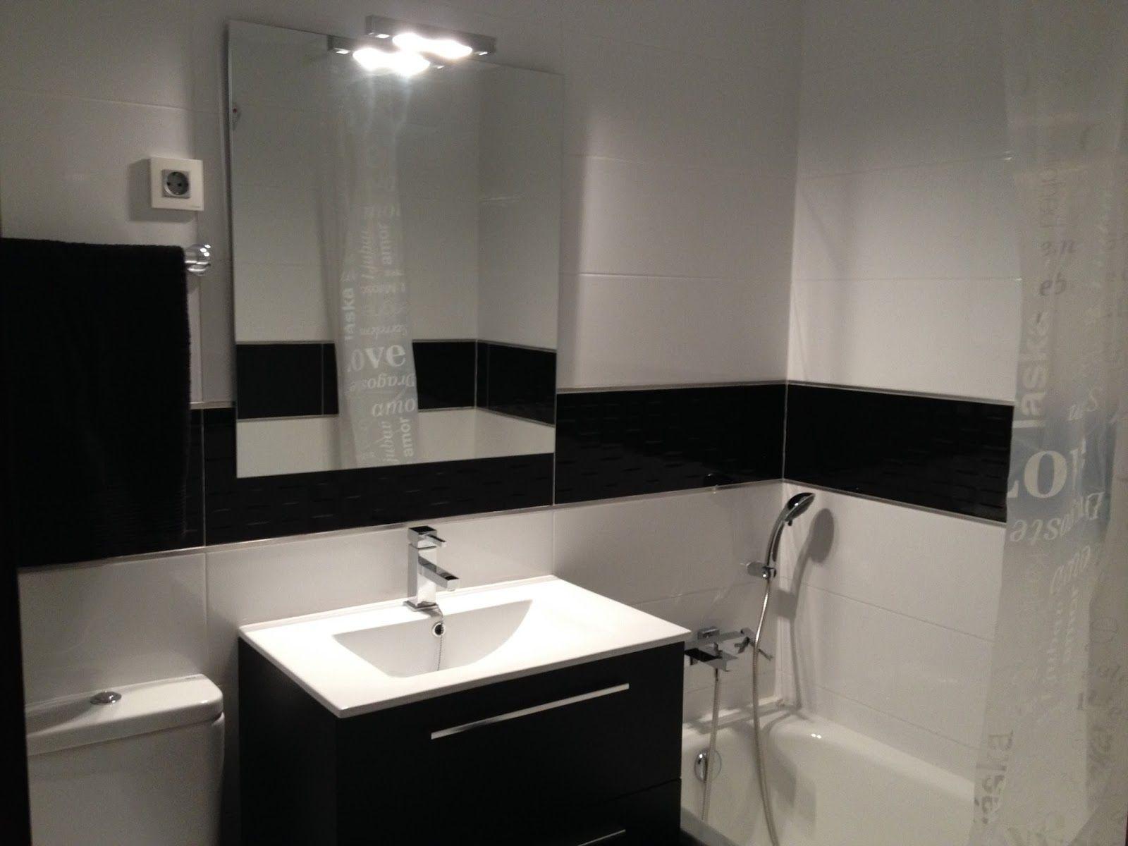 baño minimalista pequeño negro - Buscar con Google ...