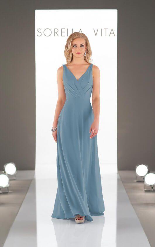 Romantic Grecian Bridesmaid Dress - Sorella Vita nel 2019  33d2ca2c1501