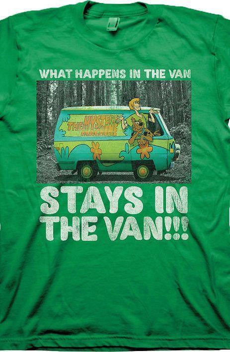 a8e8644db8d Scooby-Doo Mystery Machine T-Shirt Cartoon Geek or Scooby Geek