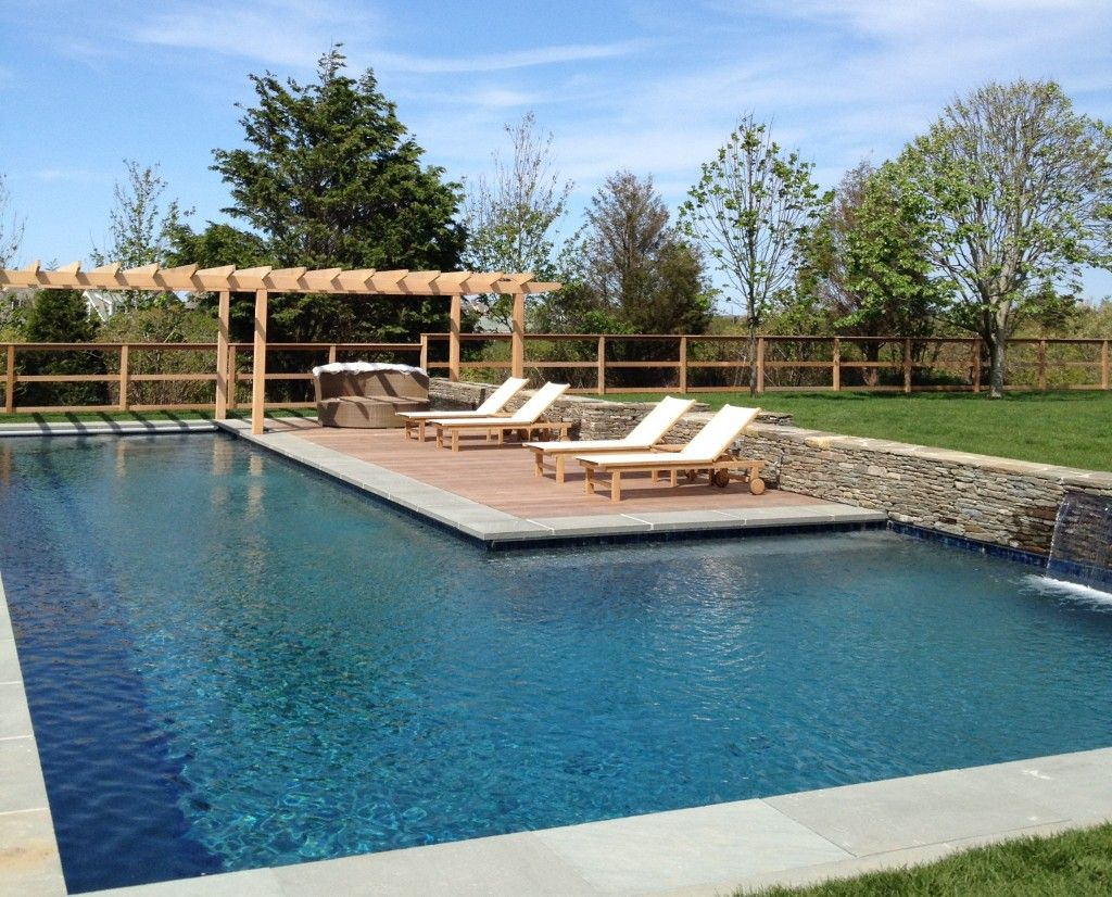 Gunite L Shape Pool Backyard Pool Gunite Swimming Pool Pool Shapes