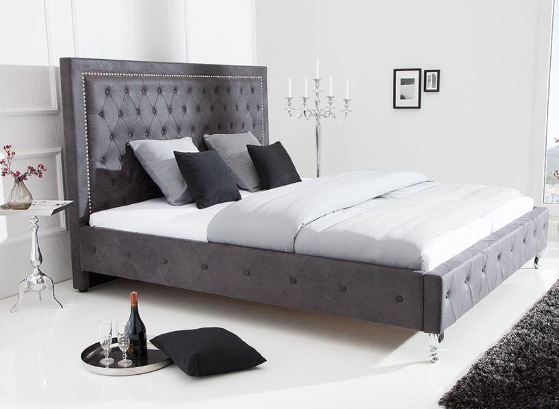 Chesterfield Doppelbett Extravagancia 180x200cm Antik Grau Nietenbesatz Riess Ambiente De Doppelbett Bett Schlafzimmer Inspirationen