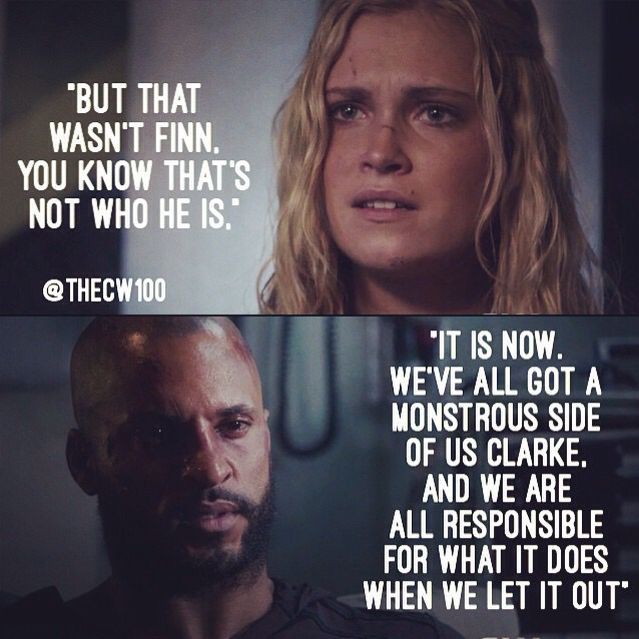 Quotes From The Movie Lincoln: The 100 - Clarke And Lincoln #2.8 #Season2
