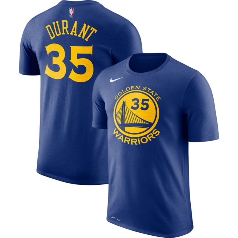fed5511a611 Nike Youth Golden State Warriors Kevin Durant  35 Dri-FIT Royal T-Shirt