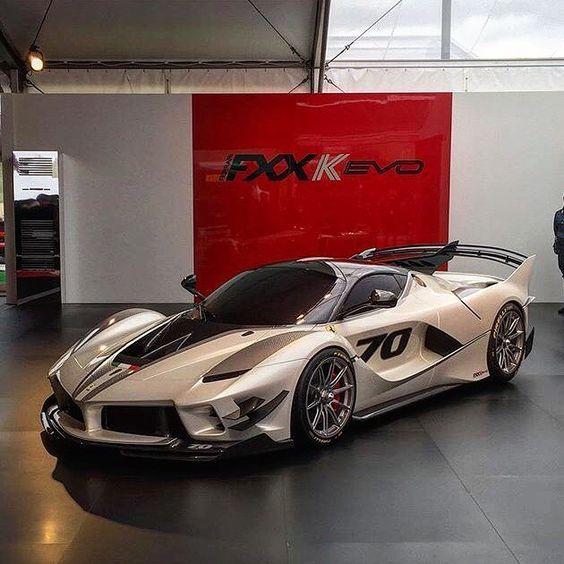 "Ferrari Lifestyle | ROSSO on Instagram: ""| #ferrariphotopage FXXKevo • 2017 • 1050 bhp (V12) • 350 km/h (217 mp/h) • 0-100 km/h (62 mp/h): 2.5 sec • 1,475kg (3,252 lb)…"""