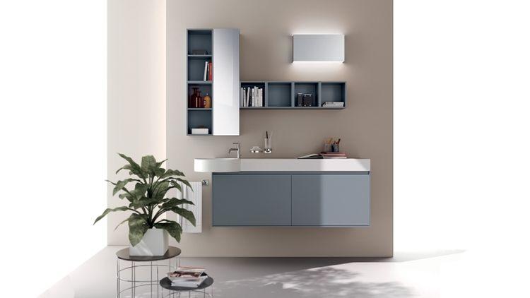 Meuble salle de bain en couleur – 25 idées charmantes   MEUBLE ...