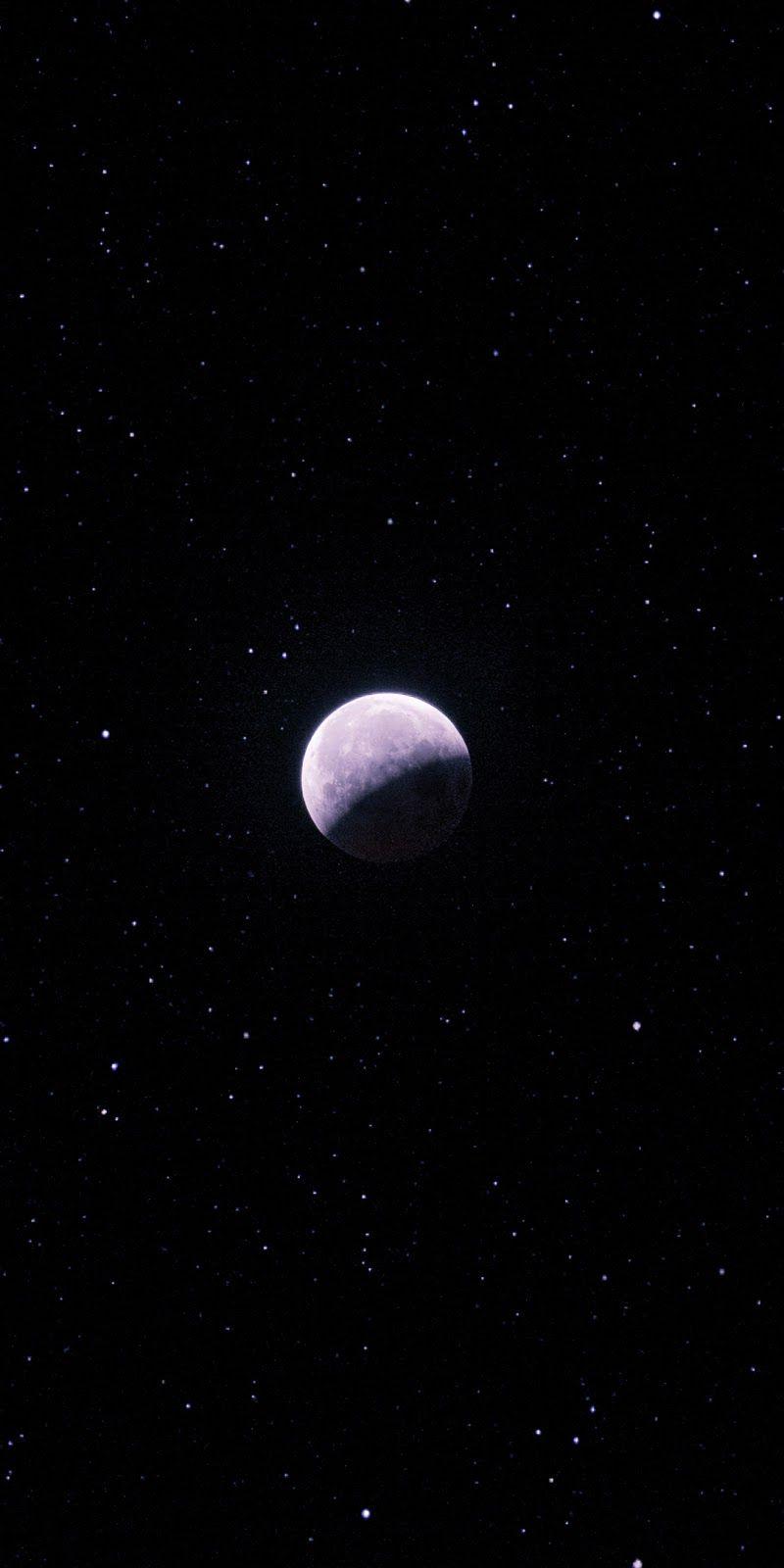Purple Moon In 2020 Night Sky Wallpaper Iphone Background Wallpaper Beautiful Wallpapers Backgrounds