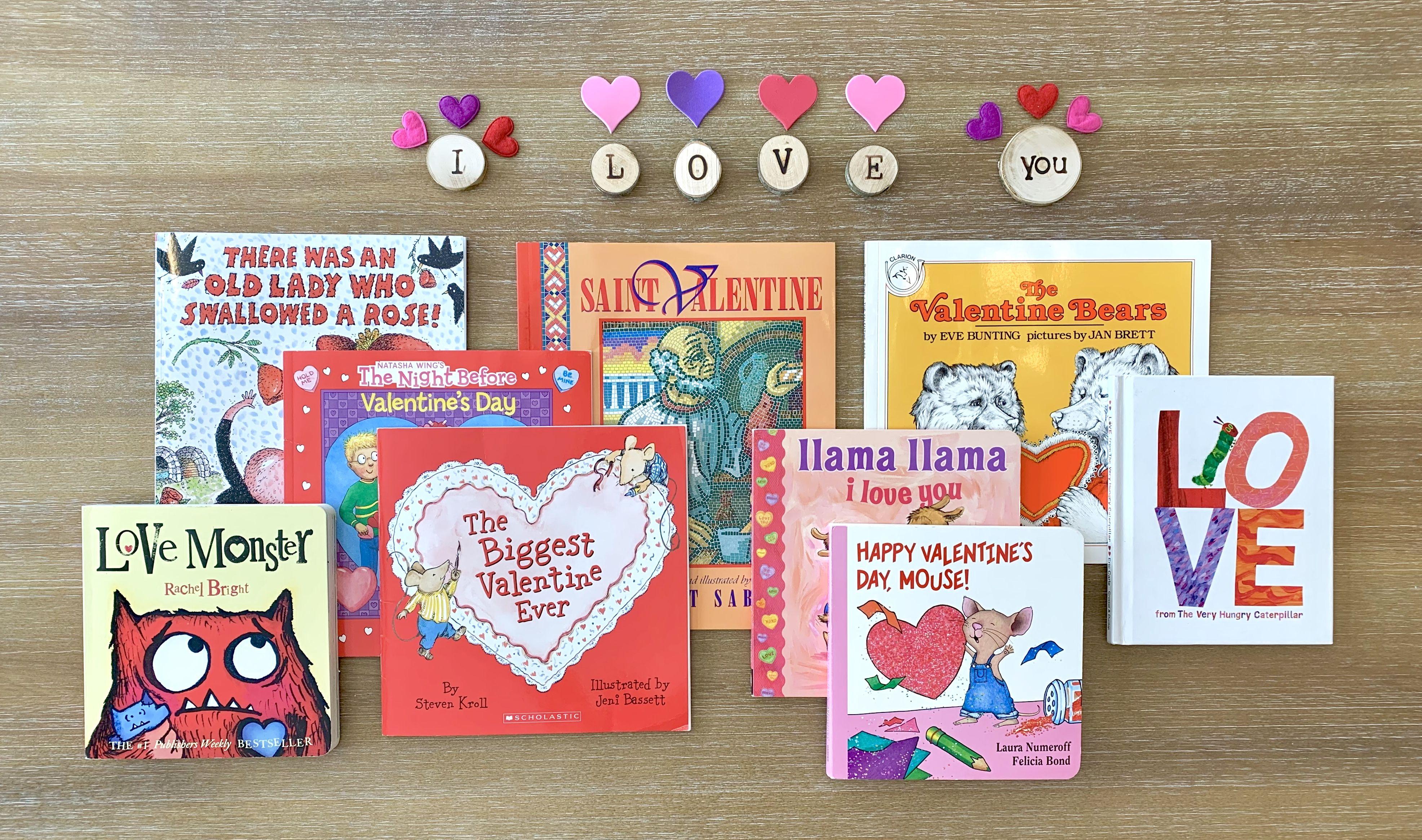 Valentine S Books