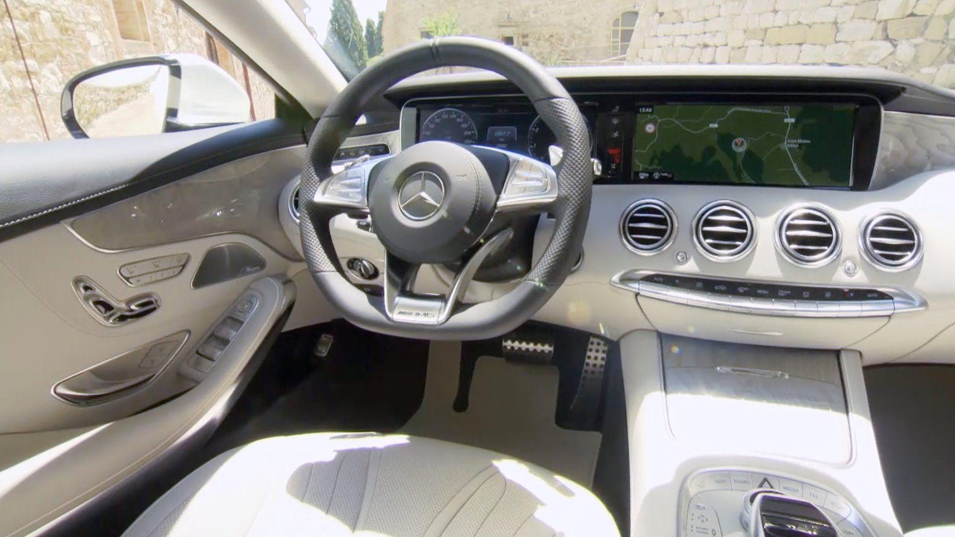2015 Mercedes S Class Coupe Interior Designo Diamond White Bright