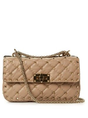 Rockstud mini quilted leather cross-body bag | Valentino | MATCHESFASHION.COM US