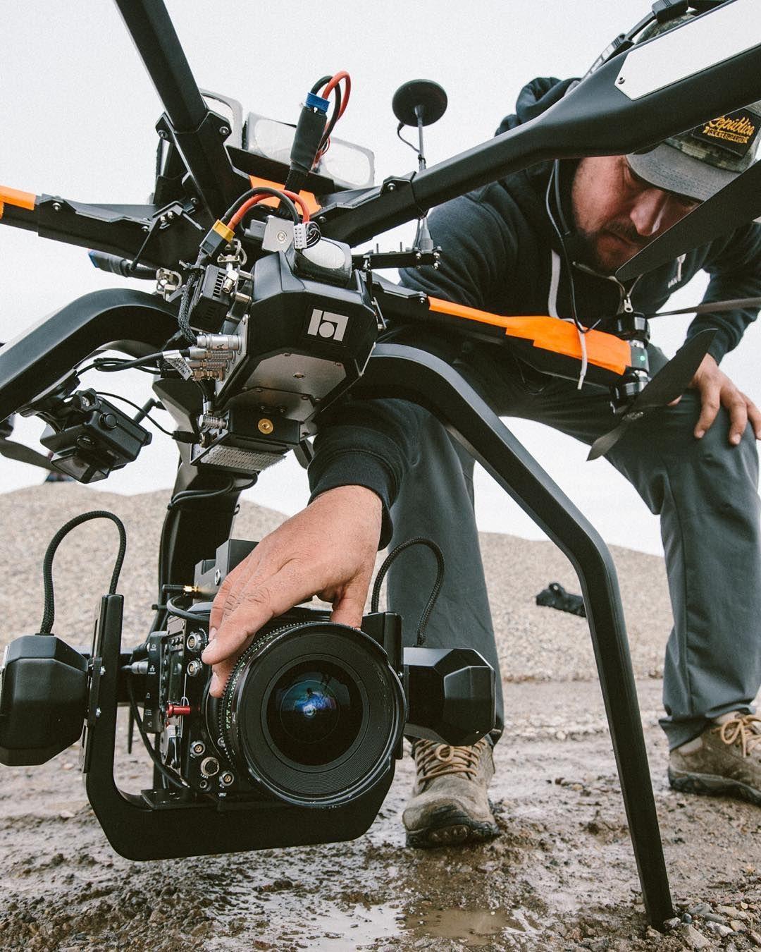 Promotion drone camera kickstarter, avis drone avec camera et casque virtuel