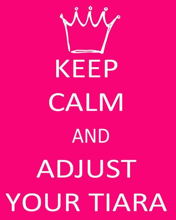 adjust your tiara