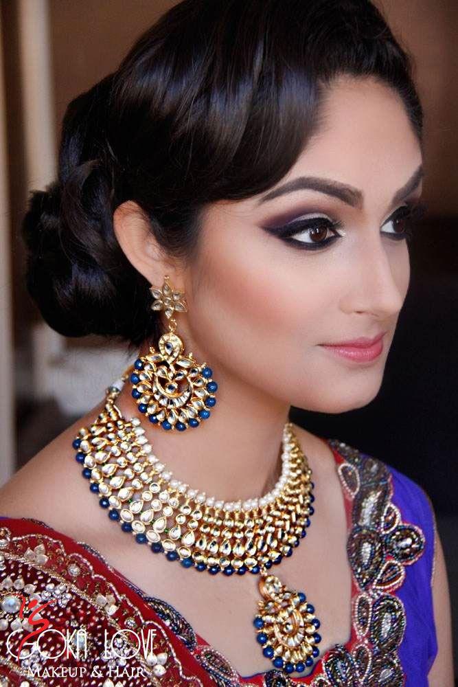Http Gokalove Blog Wp Content Uploads 2017 03 Indian Wedding Makeup And Hair6 Jpg