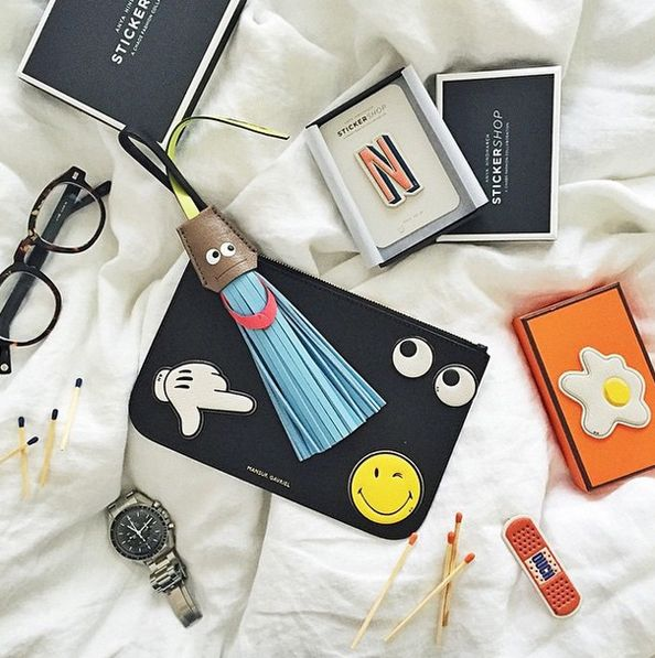 Anya Hindmarch Opens Pop Up Sticker Shop at Boutique Mall of the Emirates –  Emirates Woman