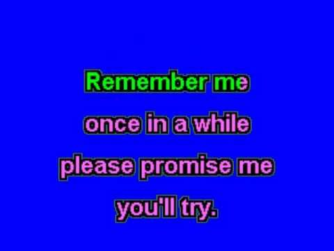 Think of me-Phantom of the opera-Karaoke-wiyh lyrics-no