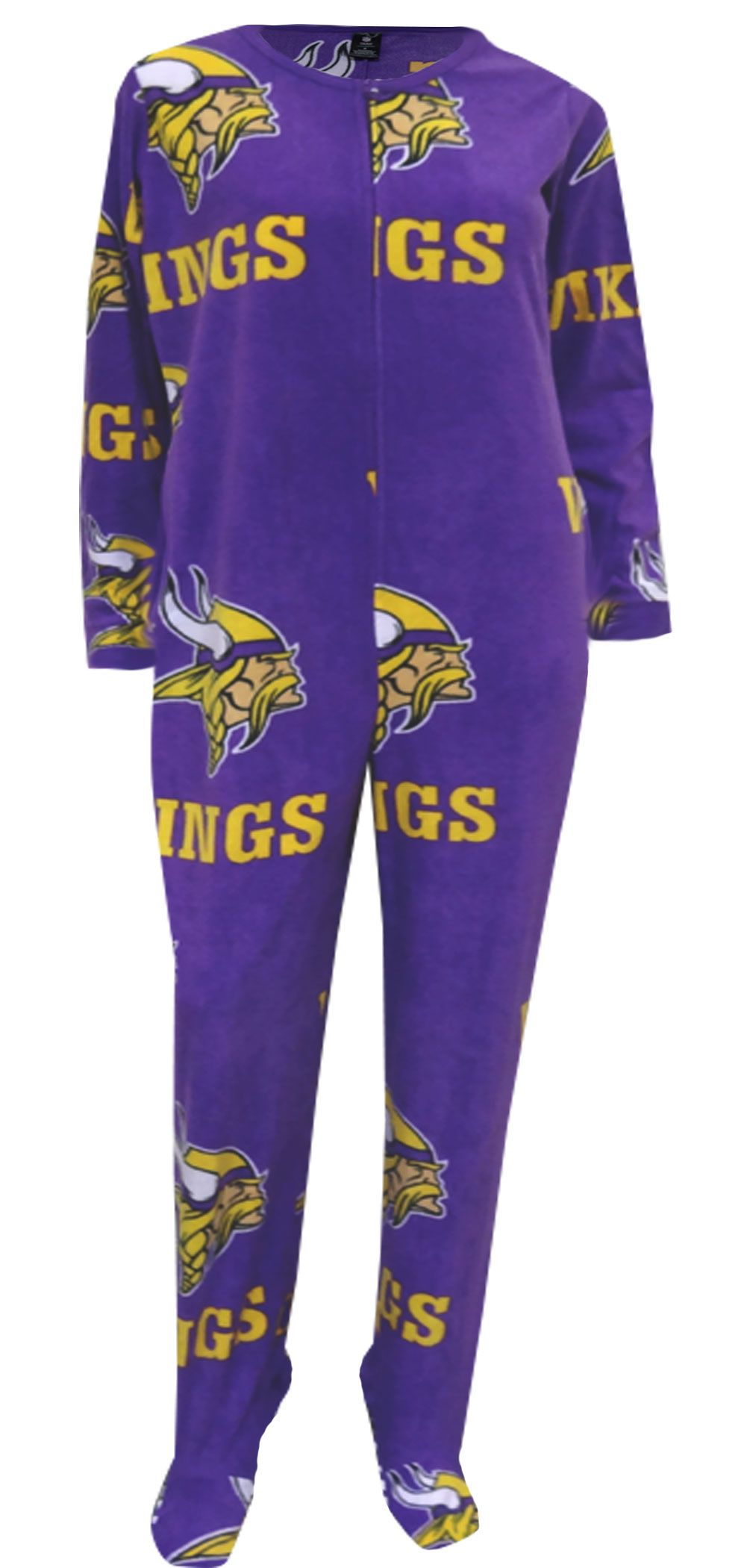 WebUndies.com Minnesota Vikings Ladies Onesie Footie Pajama ... 9a4578c56