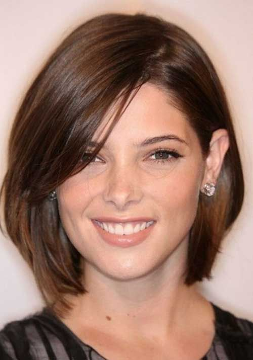10 Bob Hairstyles For Round Faces 2017 Short