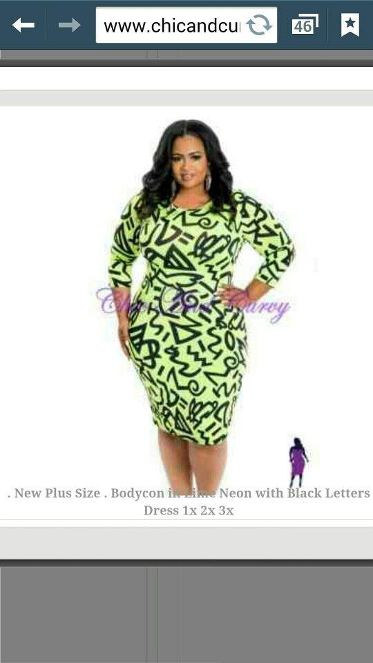 Green Graffiti Dress Plus Size Fashion Ideas Outfits Pinterest
