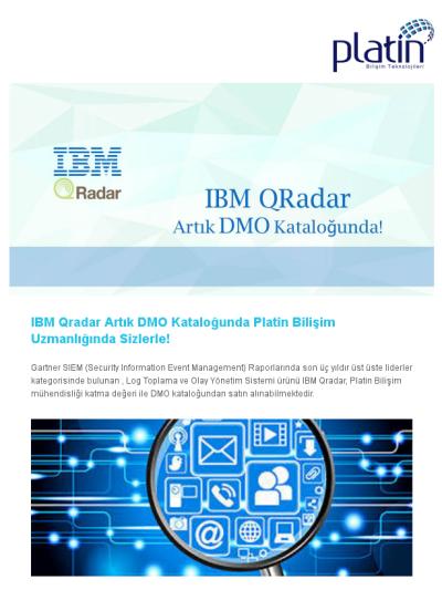 Ibm Qradar Artik Dmo Katalogunda