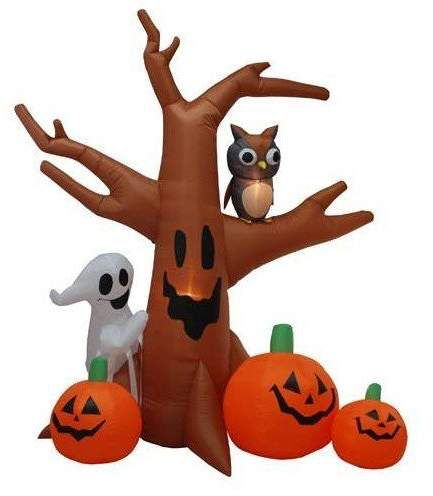 The Holiday Aisle Halloween Inflatable Haunted Tree Decoration #ad - halloween inflatable decorations