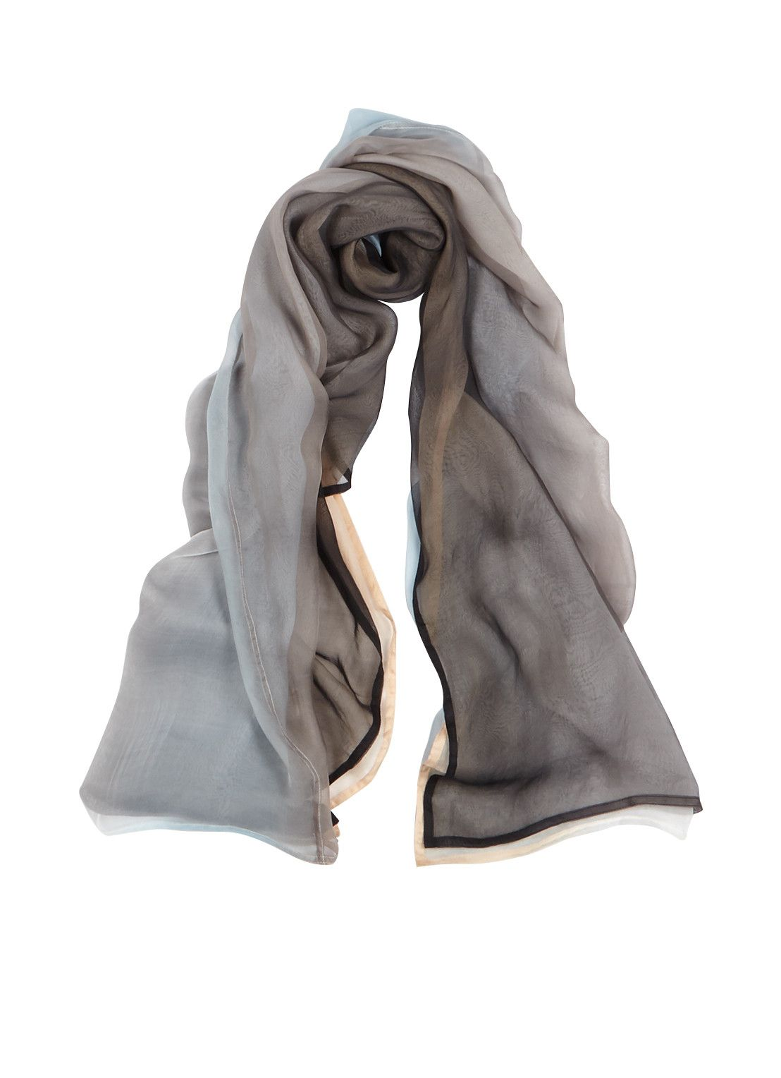 Expresso harry sjaal dip dye x cm u de bijenkorf kleding
