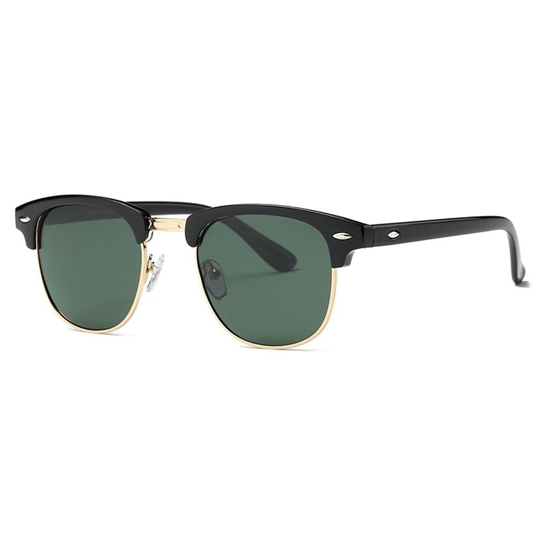 Luxus-Mode Große Rahmen Sonnenbrille Weiblichen Polarisierten Fahrspiegel Retro-Sonnenbrille Brauner Rahmen eW6kQ2