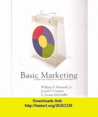 Basic Marketing A Marketing Strategy Planning Approach Pdf
