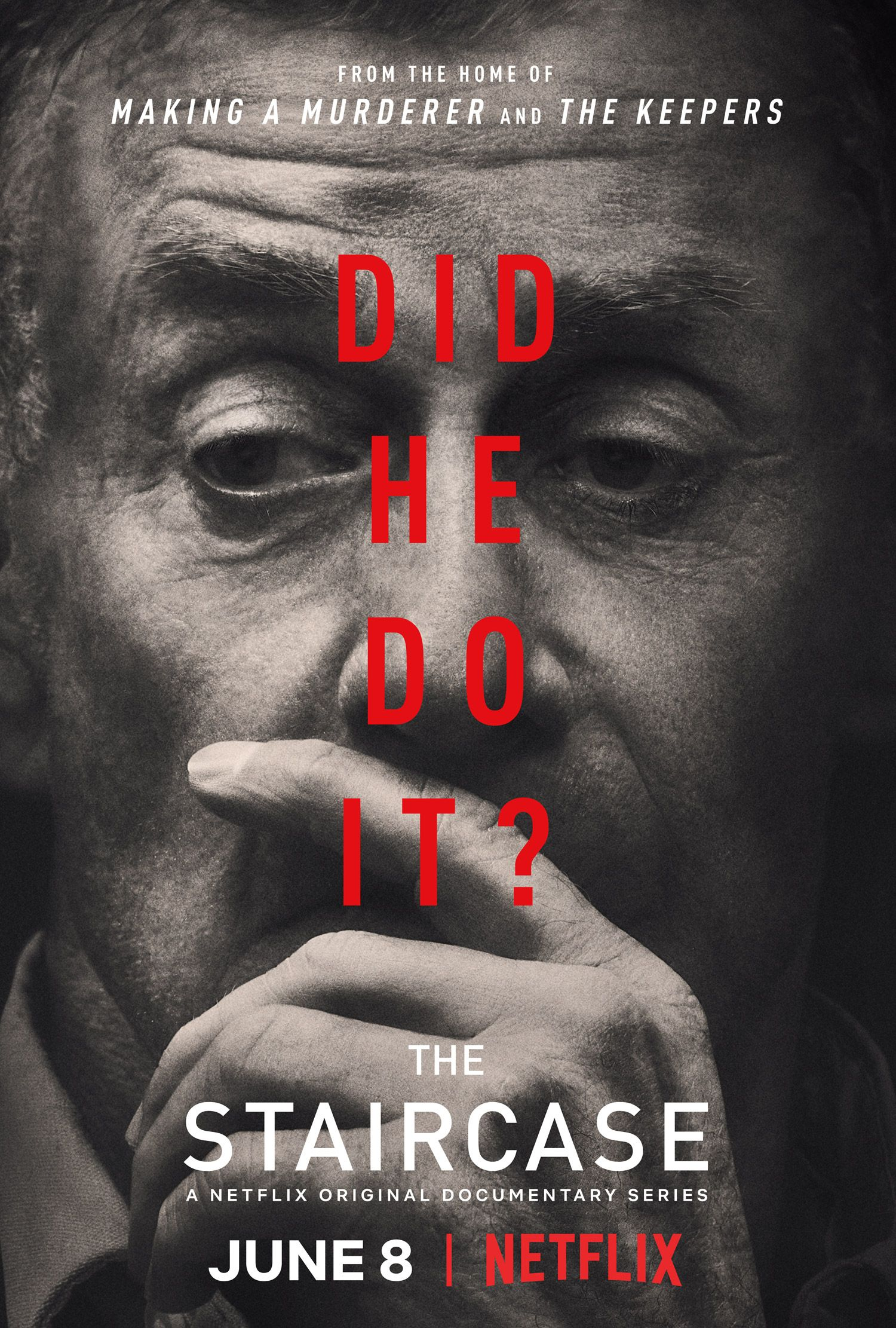 June 8th Netflix Premieres The Staircase Netflix Documentaries Documentaries Documentary Poster