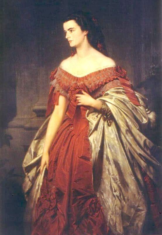 Duchess Helene 'Néné' in Bavaria (1834-1890), princess of Thurn und Taxis, sister of empress Elisabeth 'Sisi' of Austria | Erich Correns (1859)