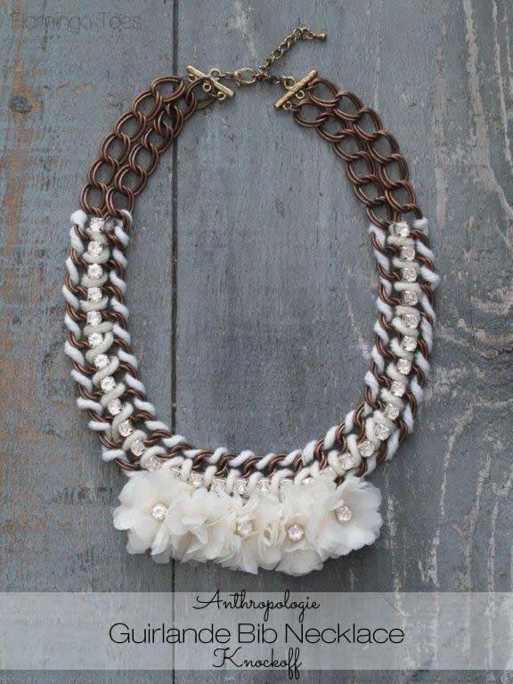 Anthropologie guirlande bib necklace jewelry diy diy ideas diy anthropologie guirlande bib necklace jewelry diy diy ideas diy crafts do it yourself crafty diy jewelry solutioingenieria Gallery