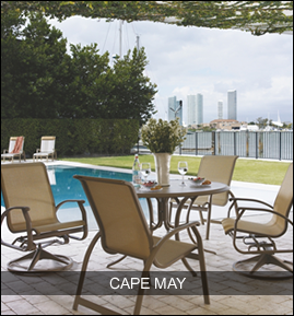 Great City View While Sitting On Your Patio Furniture Patio Patio Dining Furniture Outdoor Furniture