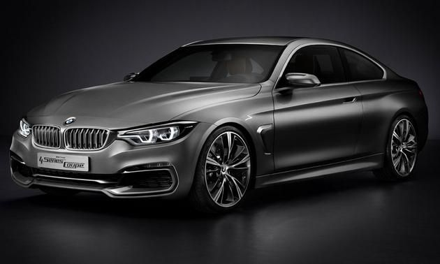 BMW's New 4-Series Coupe