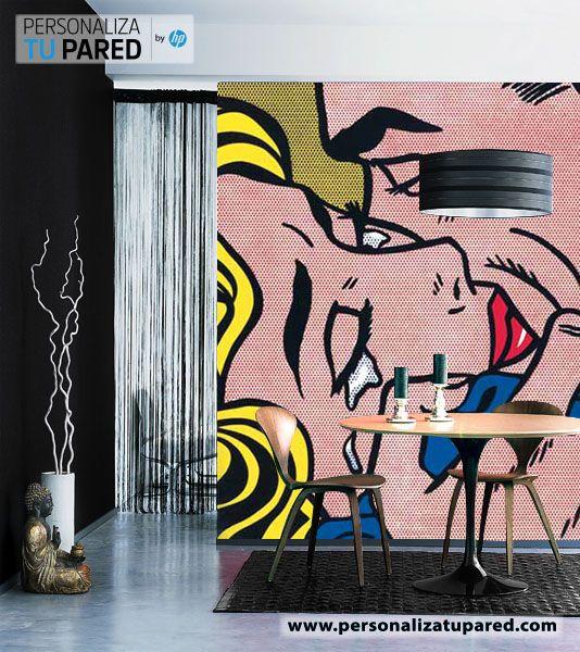 Cambiar estilo de decoración con un cambio de paredes www.personalizatupared.com