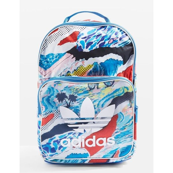 f64fc3ab28 Classic Backpack by Adidas ($42) ❤ liked on Polyvore featuring bags,  backpacks, multi, day pack backpack, adidas rucksack, day pack rucksack,  adidas ...