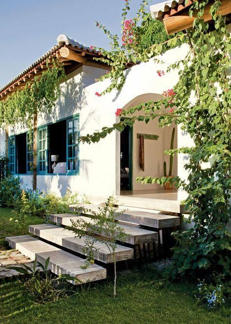 Casa acolhedora com d cor repleto de mem rias e inspira o for Decoracion de casas brasilenas