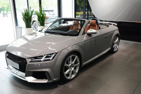 Audi Tt Rs Roadster In Nardo Grey Car Pinterest Audi Audi Tt