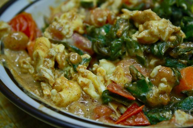 Almond Curry