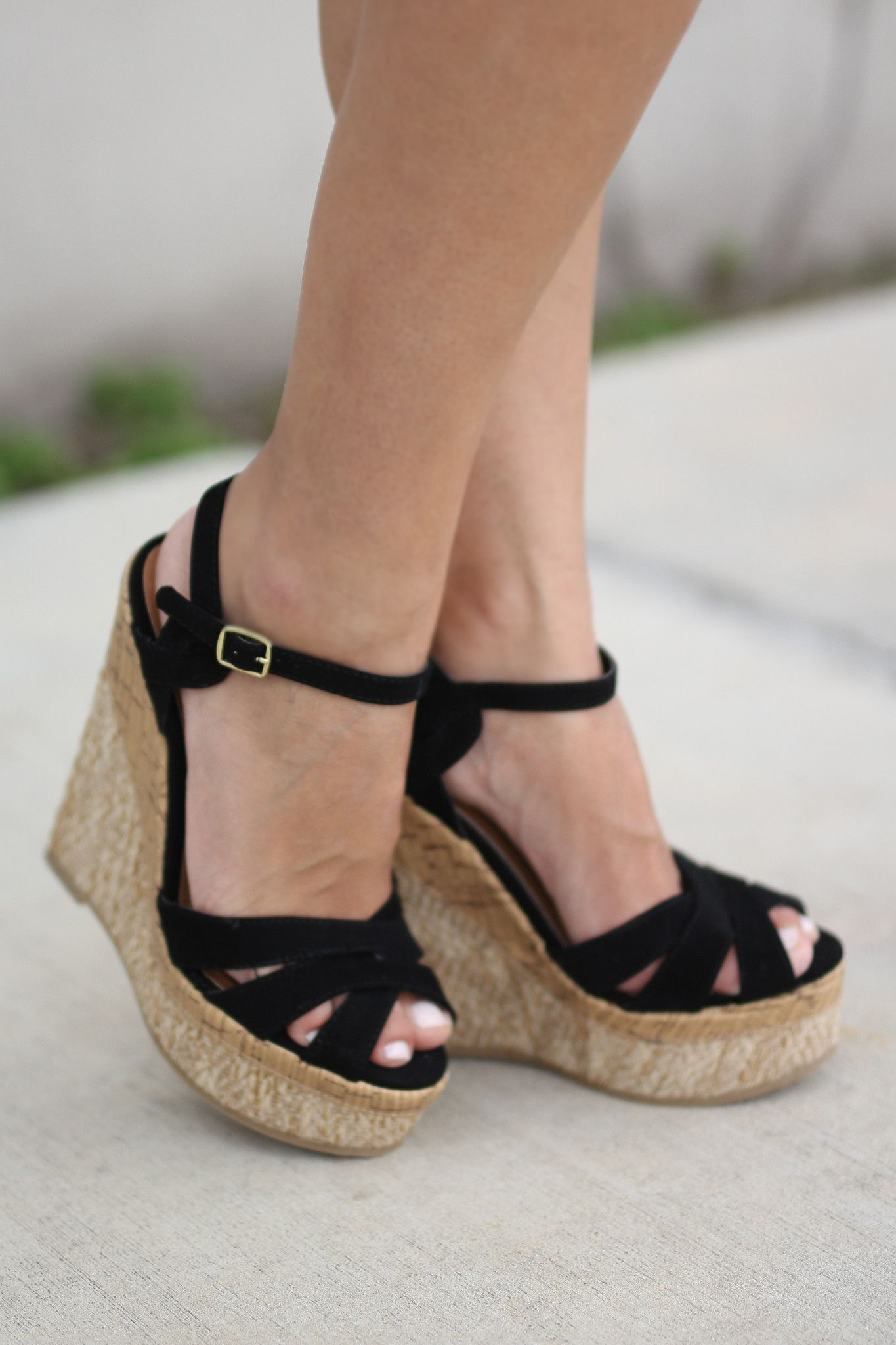 4fa0e9acfcd Summer means more wedges! The perfect summer alternative to heels!