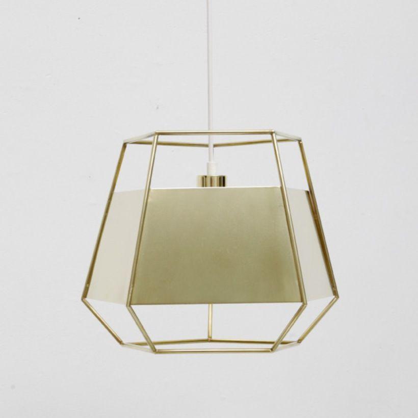 Cinque Light by Iacoli & McAllister  Brass Cinque Light.