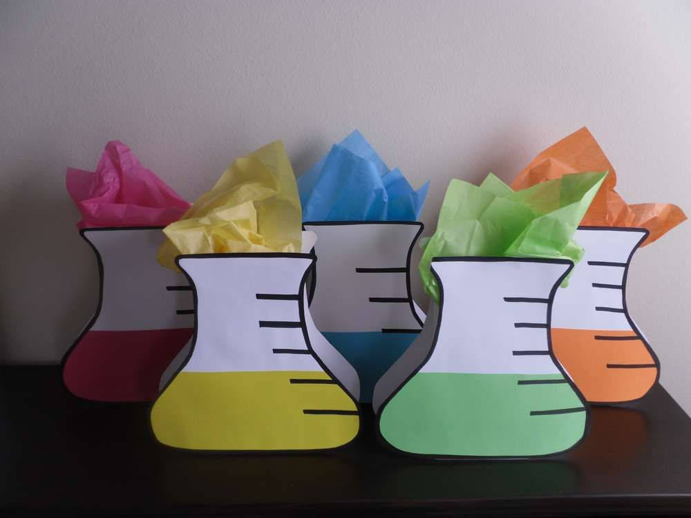 Cool Science Classroom Decorations ~ Science is fun birthday party ideas