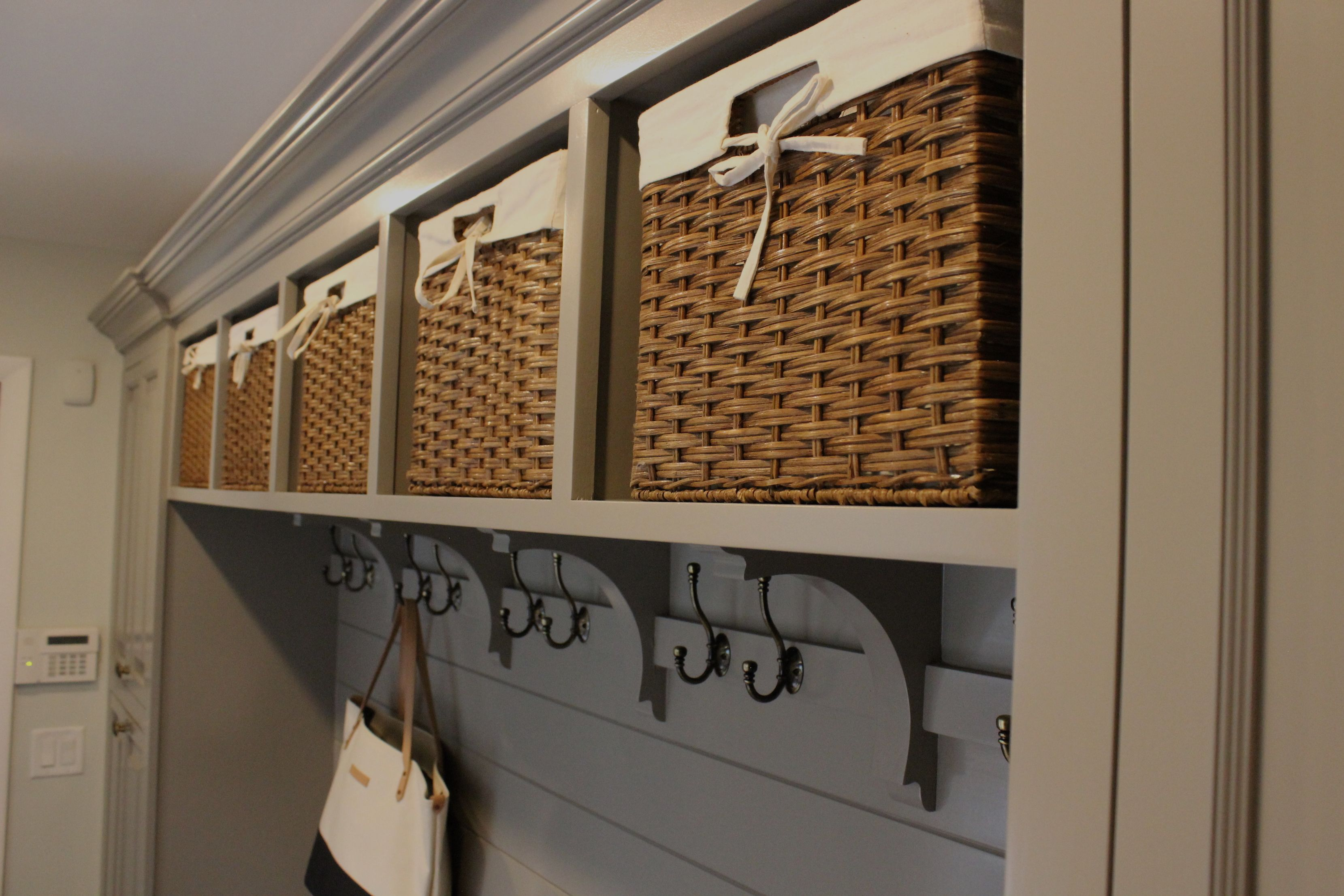 Laundry Room Mudroom Baskets Storage