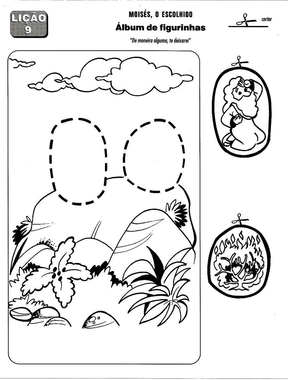 Desenhos para colorir e pintar: Moisés e Josué... | Dibujos para ...