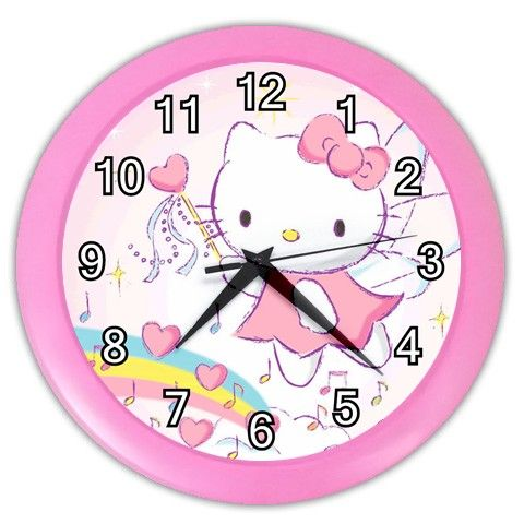 Amazing Stefan Said: Hello Kitty Clock For The Kids Room: Kids Just Love Having A Amazing Design